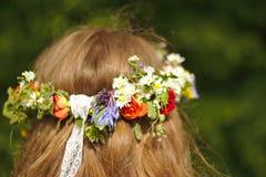 Χρόνος λουλουδιών χίπηδων στοκ εικόνα
