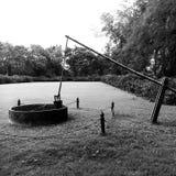 χρόνος-μαύρο και άσπρο θέμα Στοκ Εικόνα