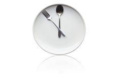 χρόνος μεσημεριανού γεύμ&alph Στοκ Εικόνα