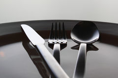 χρόνος μεσημεριανού γεύμ&alph Στοκ Φωτογραφία