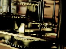 χρόνος μηχανικών Στοκ εικόνα με δικαίωμα ελεύθερης χρήσης