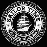 Χρόνος ναυτικών ελεύθερη απεικόνιση δικαιώματος