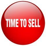 χρόνος να πωληθεί το κουμπί ελεύθερη απεικόνιση δικαιώματος