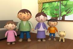 χρόνος οικογενειακής δ απεικόνιση αποθεμάτων