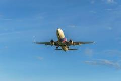 Χρόνος προσγείωσης Στοκ εικόνα με δικαίωμα ελεύθερης χρήσης