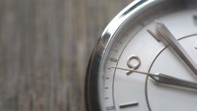 Χρόνος προσώπου ρολογιών copyspace απόθεμα βίντεο