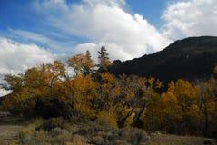 Χρόνος πτώσης στα βουνά στοκ εικόνες με δικαίωμα ελεύθερης χρήσης