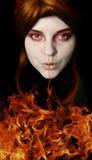 χρόνος πυρκαγιάς Στοκ Φωτογραφίες