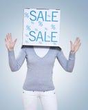 χρόνος πώλησης του s Στοκ Εικόνες