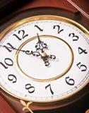 χρόνος ρολογιών Στοκ Εικόνες