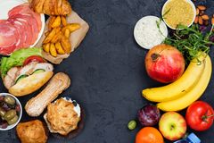 χρόνος σιτηρεσίου έννοια διατροφής νηστείας 5:2 Στοκ εικόνα με δικαίωμα ελεύθερης χρήσης