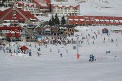 Χρόνος σκι στοκ εικόνες