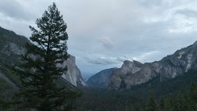 Χρόνος-σφάλμα κοιλάδων Yosemite, ευρέως απόθεμα βίντεο