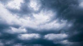 Χρόνος-σφάλμα σύννεφων βροχής απόθεμα βίντεο