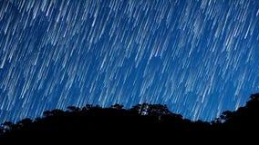 Χρόνος-σφάλμα αστεριών απόθεμα βίντεο