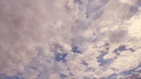 Χρόνος-σφάλμα σύννεφων δραματικό απόθεμα βίντεο