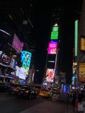 Χρόνος τετραγωνική Νέα Υόρκη στοκ εικόνα με δικαίωμα ελεύθερης χρήσης