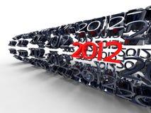 χρόνος του 2012 απεικόνιση αποθεμάτων