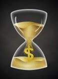 χρόνος χρημάτων Στοκ φωτογραφίες με δικαίωμα ελεύθερης χρήσης