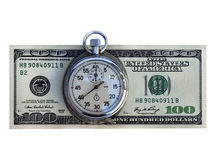 χρόνος χρημάτων Στοκ εικόνες με δικαίωμα ελεύθερης χρήσης