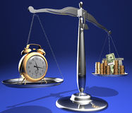 χρόνος χρημάτων απεικόνιση αποθεμάτων