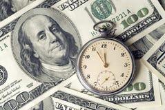 χρόνος χρημάτων Στοκ Φωτογραφία