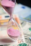 χρόνος χρημάτων Στοκ Εικόνα