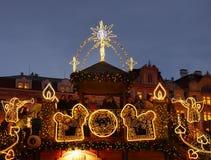 Χρόνος Χριστουγέννων, Πράγα στοκ εικόνες