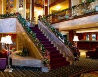 Χρόνος Χριστουγέννων στο ξενοδοχείο Biltmore, πρόνοια, RI στοκ φωτογραφία με δικαίωμα ελεύθερης χρήσης