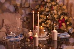 Χρόνος Χριστουγέννων, χριστουγεννιάτικο δέντρο Στοκ φωτογραφία με δικαίωμα ελεύθερης χρήσης