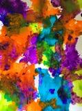 Χρόνος ψυχαγωγίας Watercolor Στοκ Εικόνες