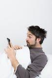 Χρόνος ύπνου - μισοκοιμισμένος στοκ εικόνα με δικαίωμα ελεύθερης χρήσης