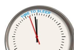 χρόνος ύπνου Στοκ Εικόνες