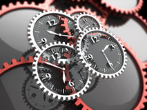 χρόνος διανυσματική απεικόνιση