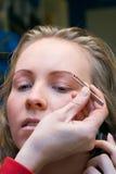 χρόνος 2 makeup Στοκ Εικόνες