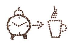 Χρόνος Coffe Στοκ εικόνες με δικαίωμα ελεύθερης χρήσης