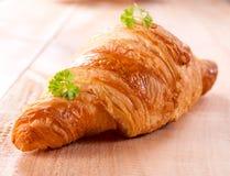 Χρόνος Croissant στοκ εικόνες με δικαίωμα ελεύθερης χρήσης