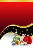χρόνος santa Claus Χριστουγέννων Στοκ Φωτογραφίες