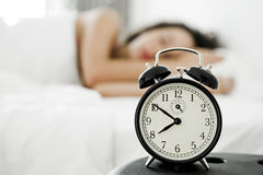 Χρόνος wakeup Στοκ εικόνα με δικαίωμα ελεύθερης χρήσης