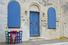 χρώματα Άνδρου Στοκ φωτογραφίες με δικαίωμα ελεύθερης χρήσης