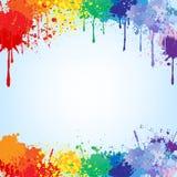 χρώματα ανασκόπησης απεικόνιση αποθεμάτων
