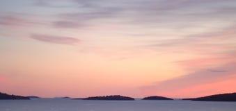 Χρώματα βραδιού Στοκ εικόνα με δικαίωμα ελεύθερης χρήσης