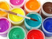 χρώματα γκουας Στοκ Φωτογραφίες