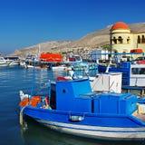 χρώματα Ελλάδα ηλιόλουσ& Στοκ φωτογραφία με δικαίωμα ελεύθερης χρήσης