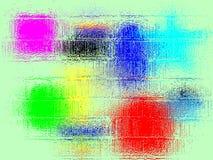 χρώματα θαμπάδων Στοκ Εικόνες
