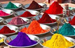 χρώματα Ινδία Στοκ εικόνες με δικαίωμα ελεύθερης χρήσης
