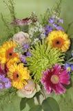 χρώματα Ιούνιος ανθοδεσμών Στοκ Εικόνες