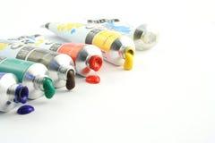 χρώματα καλλιτεχνών Στοκ εικόνες με δικαίωμα ελεύθερης χρήσης