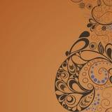 χρώματα καφέ ανασκόπησης Ελεύθερη απεικόνιση δικαιώματος