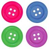 Χρώματα κουμπιών Στοκ Φωτογραφίες